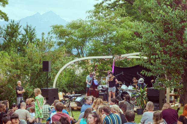 Der Andrang war groß beim Sommerfest im Botanischen Garten im vergangenen Jahr.