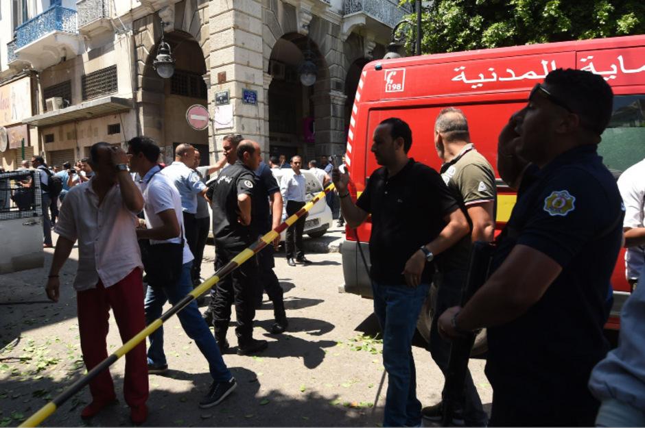Ein Polizist kam bei dem Anschlag ums Leben.