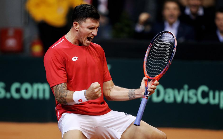 Novak darf sich über eine erfolgreiche Wimbledon-Quali freuden.