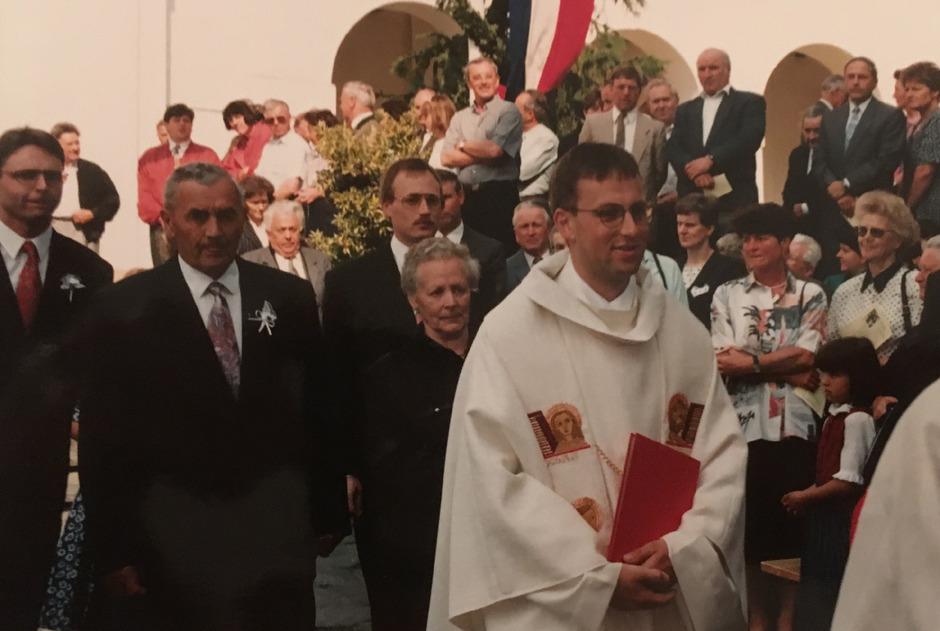 Jakob Bürgler hat vor 25 Jahren in der Pfarrkirche St. Andrä in Lienz seine Primiz gefeiert.