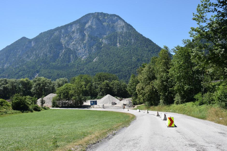 Neben der Autobahnabfahrt Kufstein-Süd soll die Baurestmassendeponie samt Lager für gefährliche Stoffe errichtet werden.