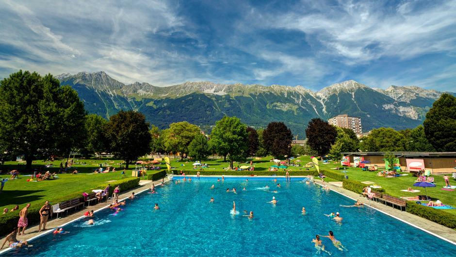 Das Tivoli-Freibad zählte zuletzt bis zu 6500 Badegäste am Tag.