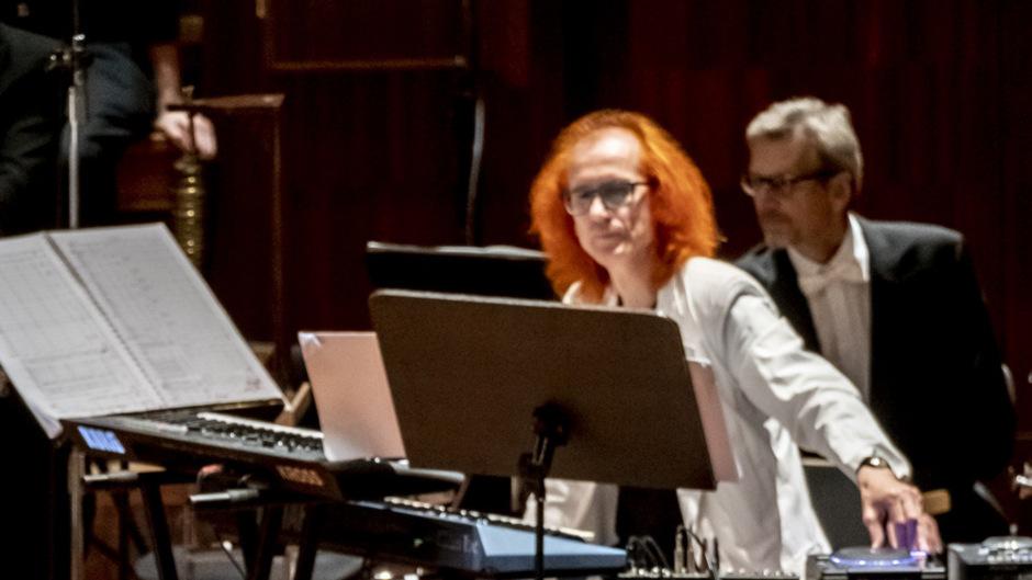 """Es war ein """"Herzensprojekt"""" von Norbert Zehm, die Geschichte der Tasteninstrumente zu würdigen und dabei Cembalo und Klavier gegenüberzustellen."""