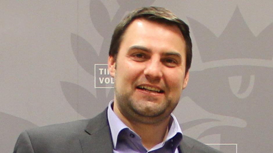 Der frischgebackene Innsbrucker ÖVP-Obmann Christoph Appler.