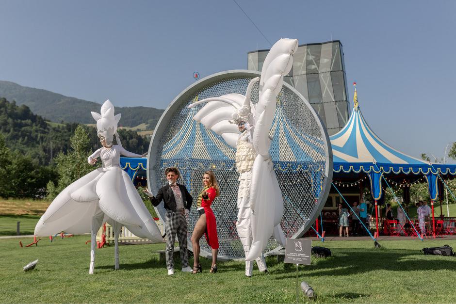 Manege frei für den Circus Roncalli.