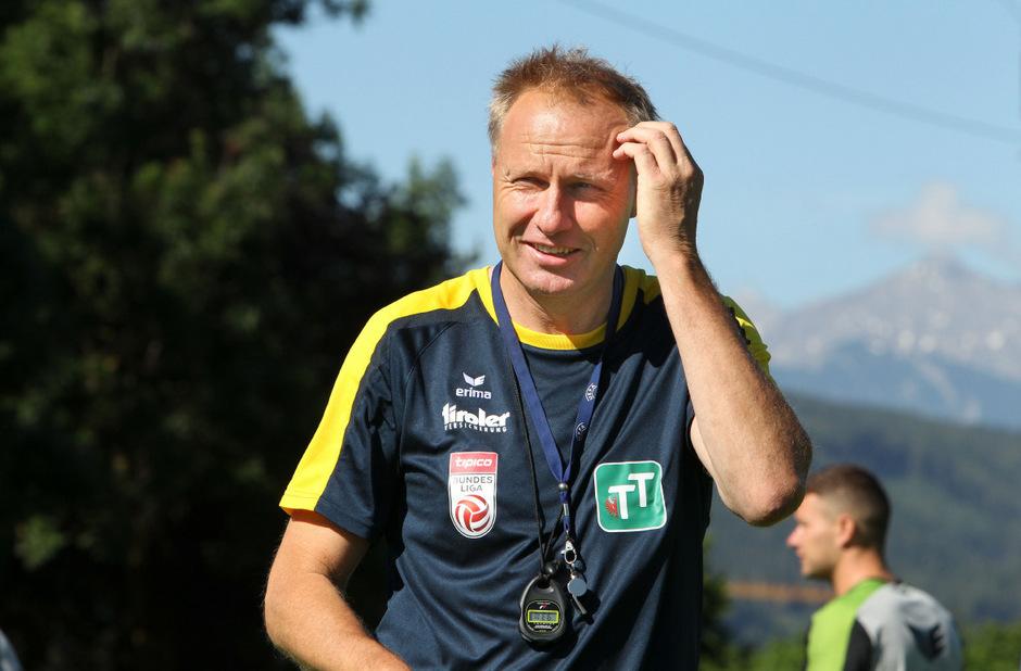 Für WSG-Coach Silberberger geht's im Cup nach Treibach.