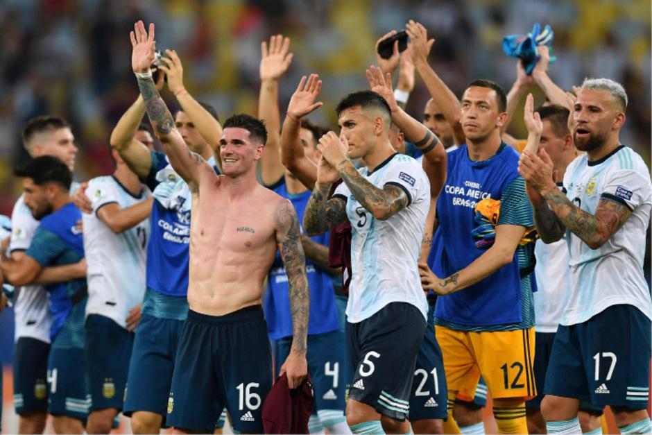Die Argentinier setzten sich im Viertelfinale mit 2:0 gegen Venezuela durch.