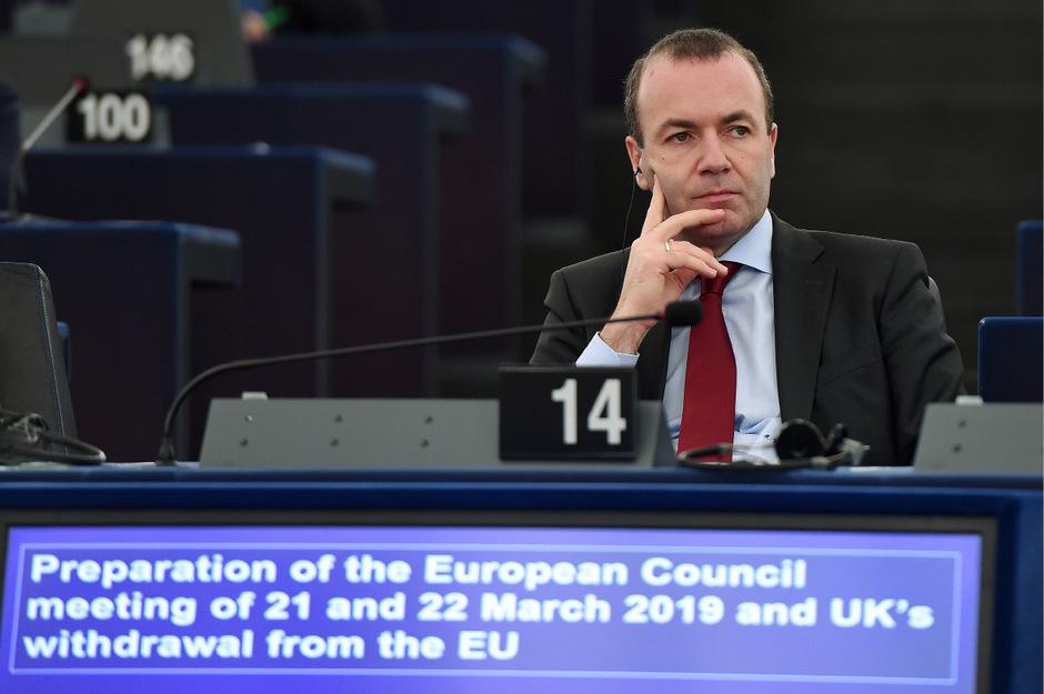 EVP-Chef Manfred Weber.
