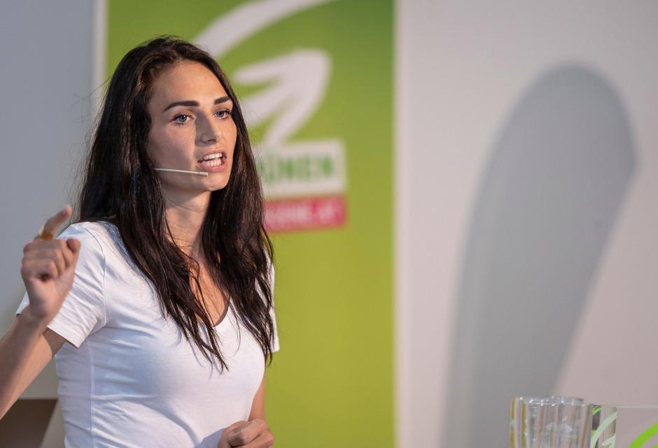Die 28-jährige gebürtige Vorarlbergerin und Innsbrucker Gemeinderätin Barbara Neßler.