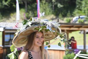 Silberner Hut gefiel gut und Laetizia Karg aus Thaur wurde Dritte.