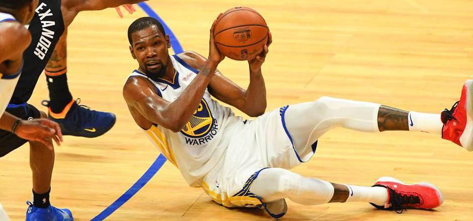 Kevin Durant läuft künftig für die Brooklyn Nets auf.