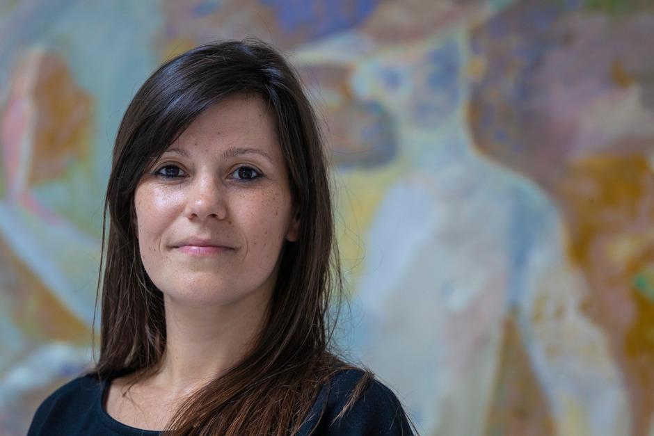 """Ivana Marjanovi´c, die neue Geschäftsführerin des Kunstraums Innsbruck, tritt Mitte August den für sie """"perfekten Job"""" an."""