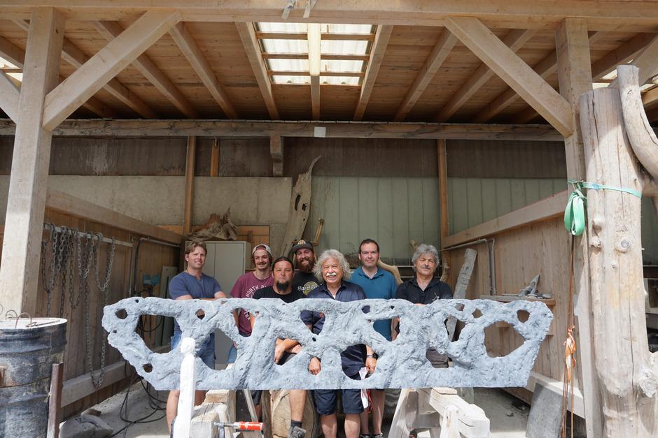 """Das Team des zweiwöchigen Kunstevents """"Skulp-Tour"""" freut sich auf viele Besucher."""