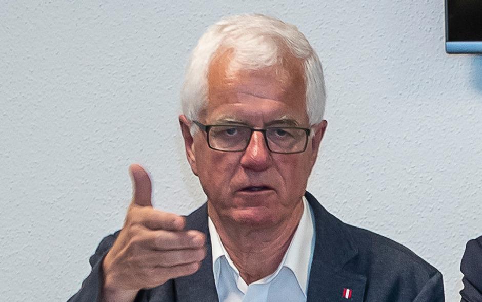Wacker-Präsident Gerhard Stocker kann über einen schuldenfreien Verein berichten.