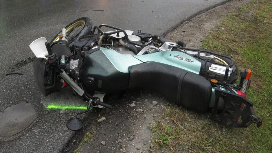 Bei einem zweiten Unfall in Jenbach war ein Motorrad verwickelt. Der Lenker wurde verletzt.