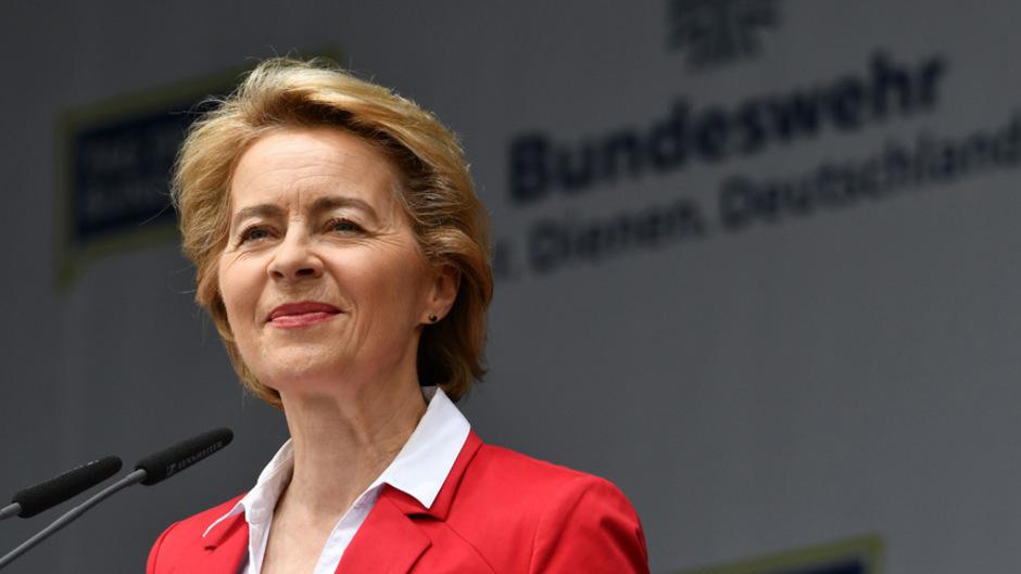 Ursula Von der Leyen wäre die erste Frau an der Spitze der EU-Kommission.