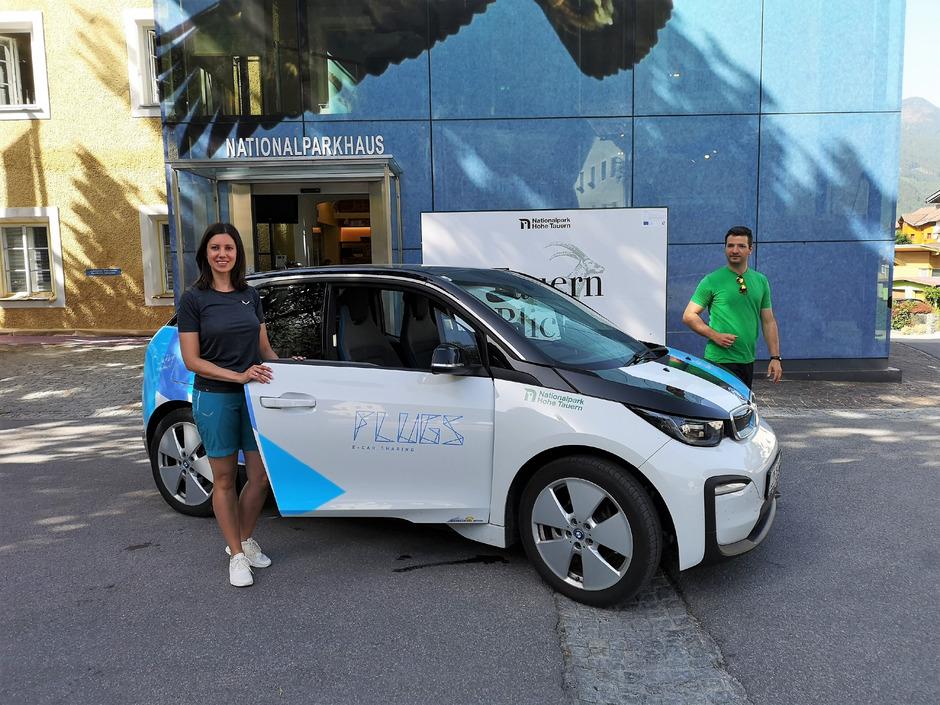 Der Nationalpark Hohe Tauern stellt für Gäste und Einheimische über den Sommer einen Elektro-BMW zum Mieten bereit.