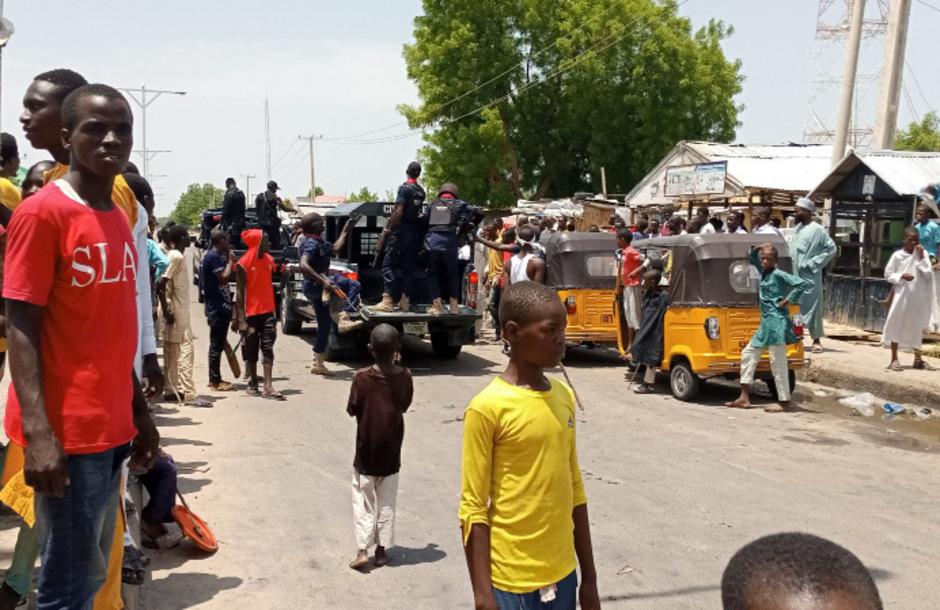 In Nigeria kommt es wegen schlechter Straßen und kaum gewarteter Fahrzeuge immer wieder zu schweren Verkehrsunfällen. (Symbolbild)