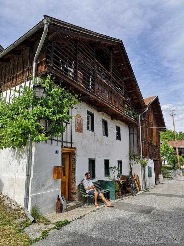 Der Bauernhof von Johannes Münsch in Eichat/Absam ist der älteste des Dorfes.