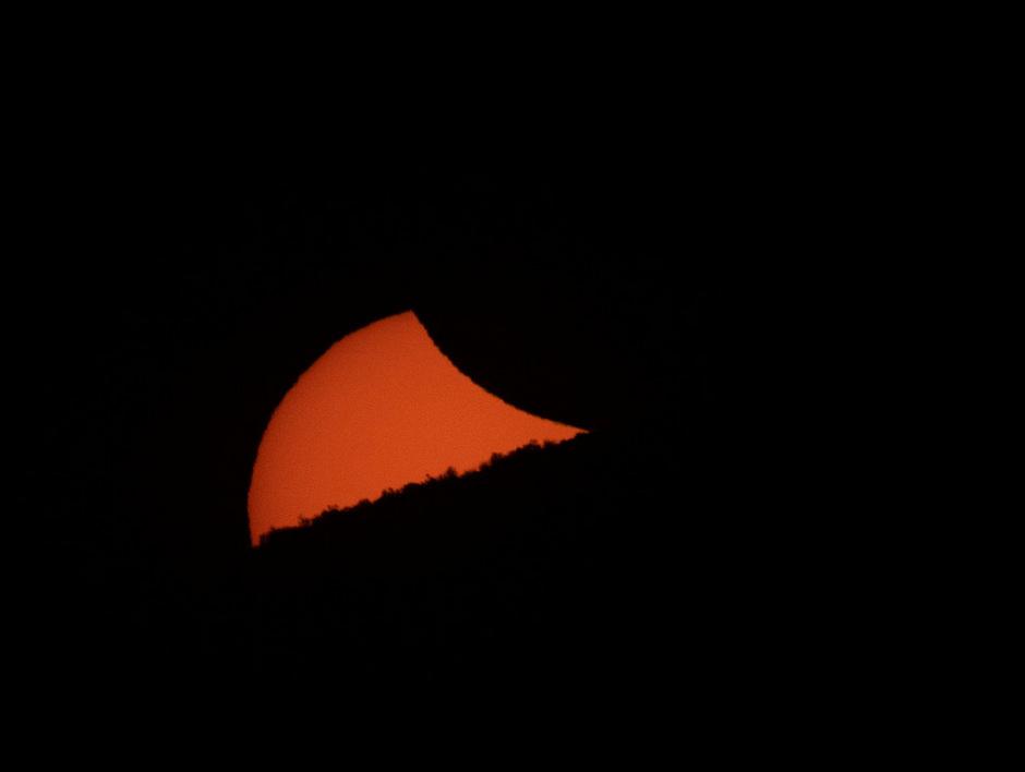 Die Sonnenfinsternis begeisterte Tausende Menschen.