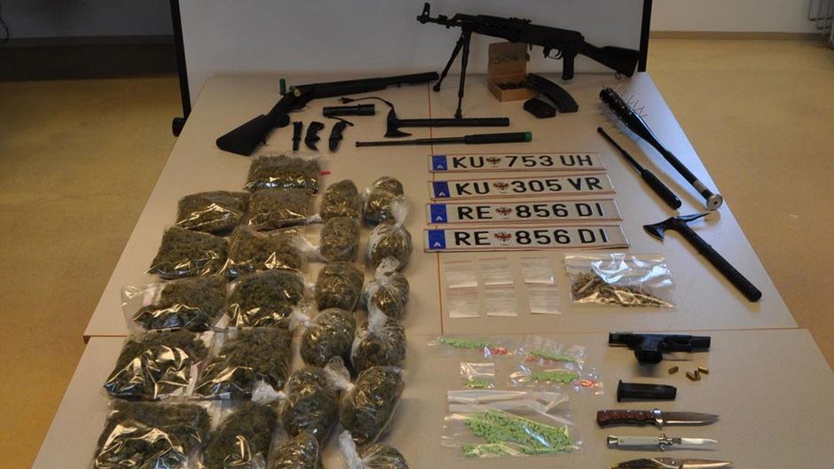 Die Polizei Reutte konnte dem 22-jährigen Dealer eine Reihe von Straftaten nachweisen.