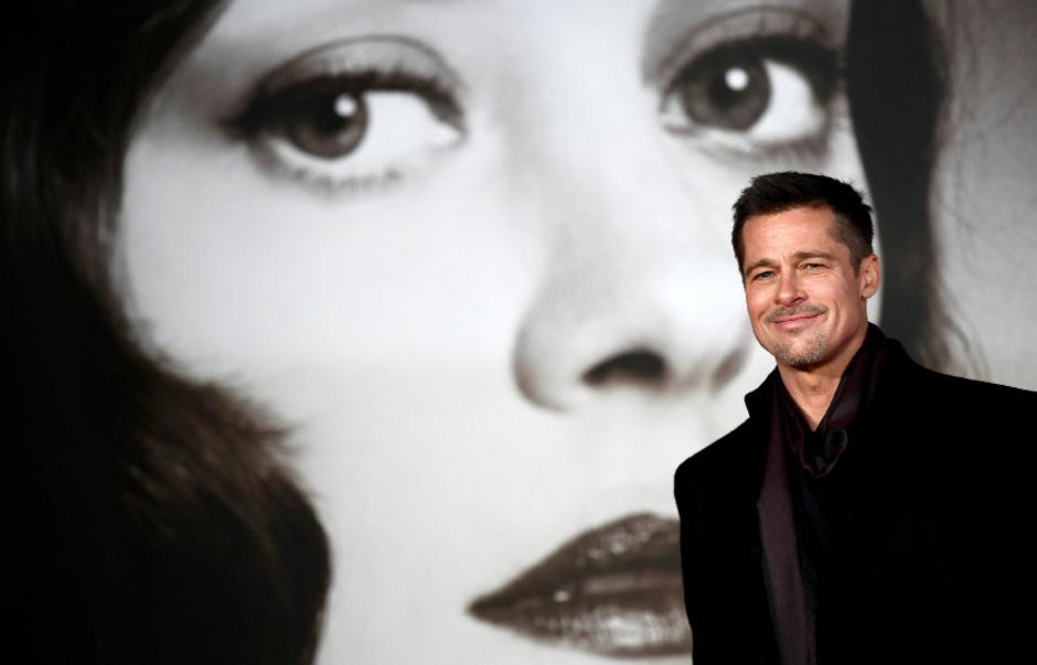 Produzent und Schauspieler Brad Pitt.