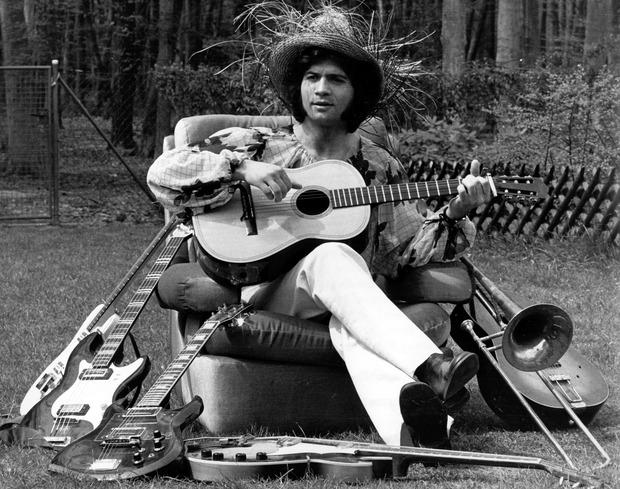 Costa Cordalis auf einem Foto aus dem Jahr 1972.