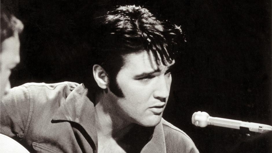 Elvis am Beginn seiner Karriere.