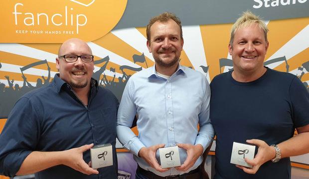 v. l.: Axel Schnaller, Helmut Zangerl, Richard Hirschhuber