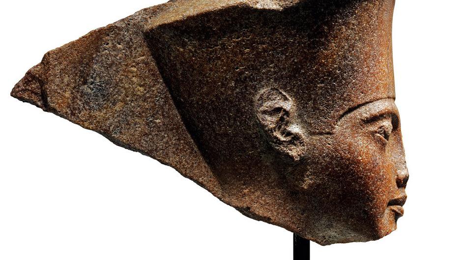 Die Steinbüste stammt aus der privaten Resandro-Sammlung.