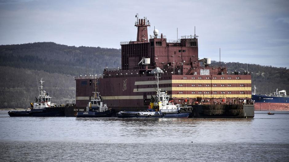 Das schwimmende Atomkraftwerk ruft Kritiker auf den Plan.