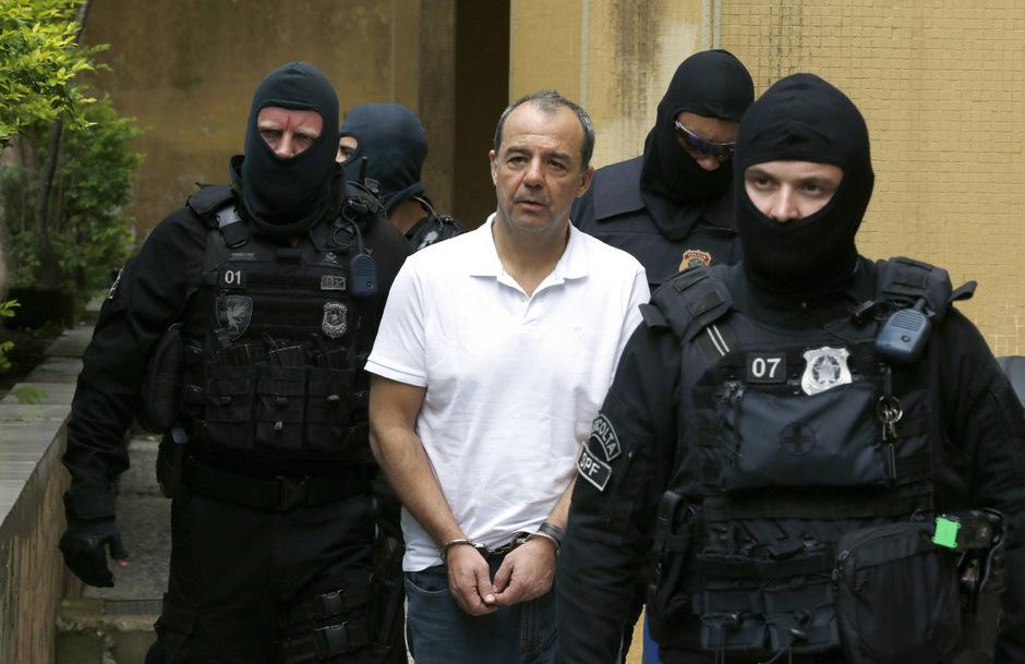 Der ehemalige Gouverneur von Rio de Janeiro, Sergio Cabral, sitzt schon seit 2016 in Haft.