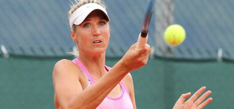 Sophia Bergner (TC Schwaz/links) ließ Katharina Knöbl (Igls) nur ein Game.