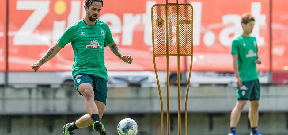 In Zell im Werder-Trainingseinsatz - Ex-ÖFB-Teamspieler Martin Harnik.