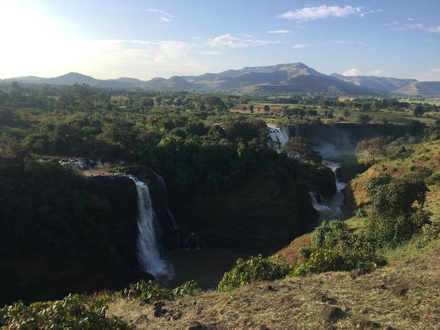 Imponierend: die Wasserfälle am Blauen Nil.