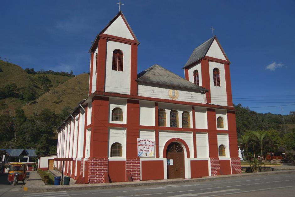 Die Kirche in Pozuzo steht im Mittelpunkt des jährlichen Kolonistentages am 25. Juli.