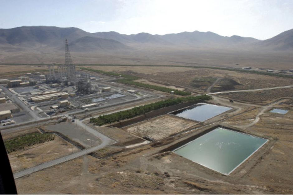 Ein Atomkraftwerk in Arak im Iran.