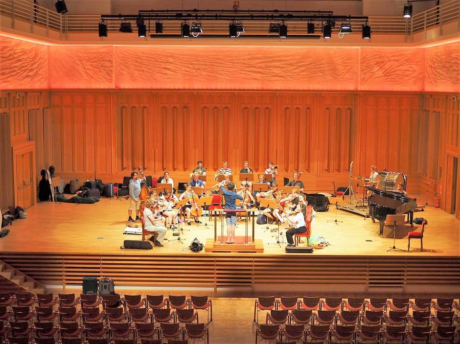 Im Gustav-Mahler-Saal im Euregio Kulturzentrum in Toblach ist am Mittwoch Mahlers vierte Sinfonie zu hören.