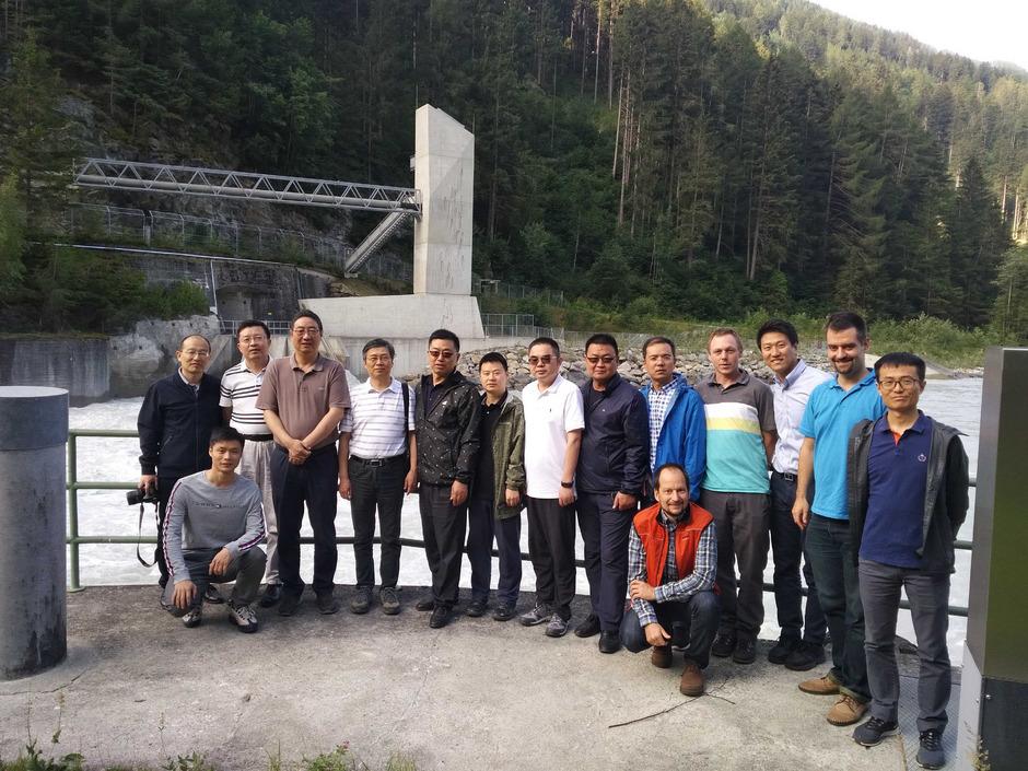 Eine chinesische Delegation war kürzlich in der Runserau.