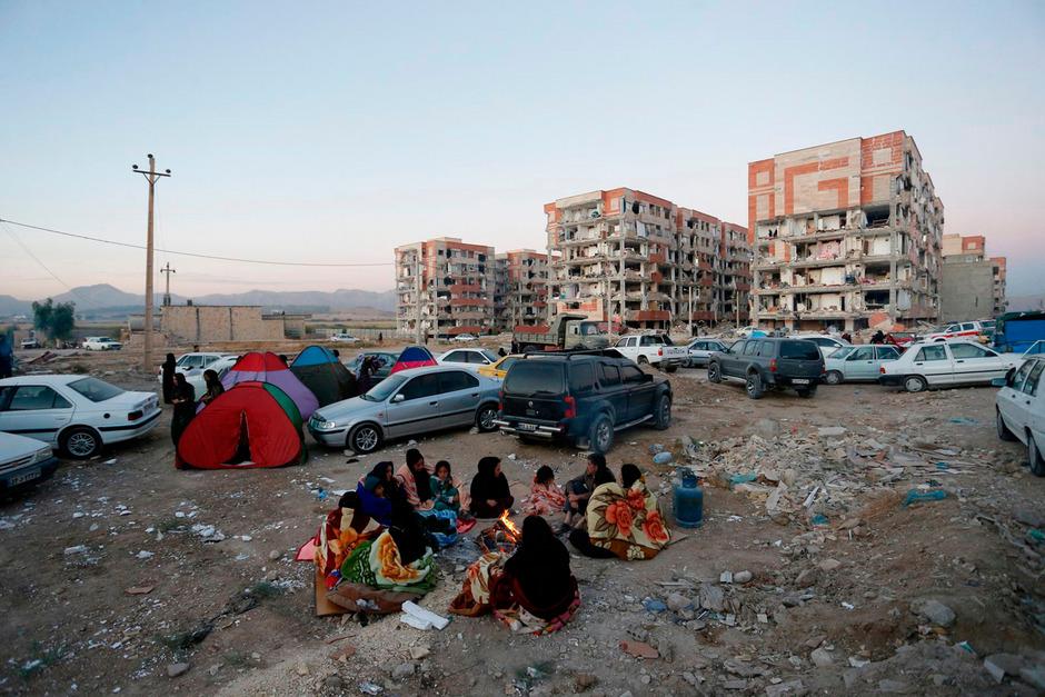 Immer wieder kommt es im Iran zu schweren Beben.