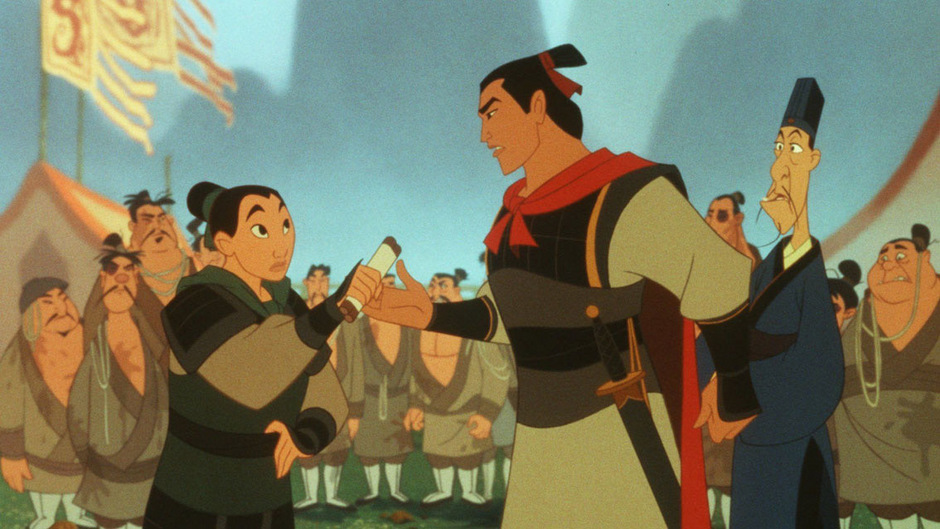 Als Mann verkleidet zieht Mulan für ihren Vater in den Kampf.