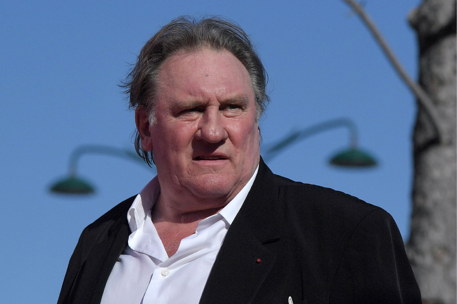 Schauspieler Gérard Depardieu.
