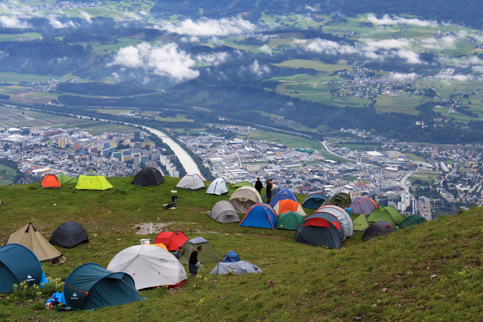 """Das höchstgelegene Musikfestival Europas - das """"Nordkette Wetterleuchten"""" - findet am Samstag und Sonntag bereits zum 17. Mal statt."""