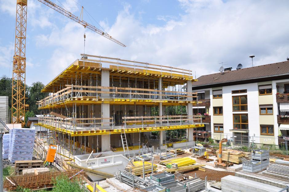 Die Wohnungen des Neubaus sind bereits alle vergeben worden.