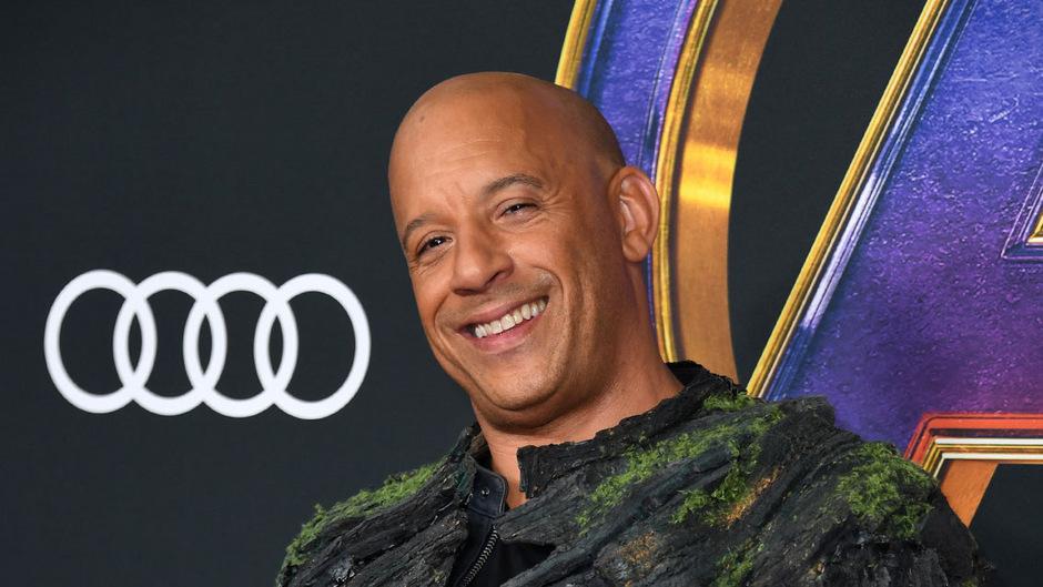 Schauspieler Vin Diesel.