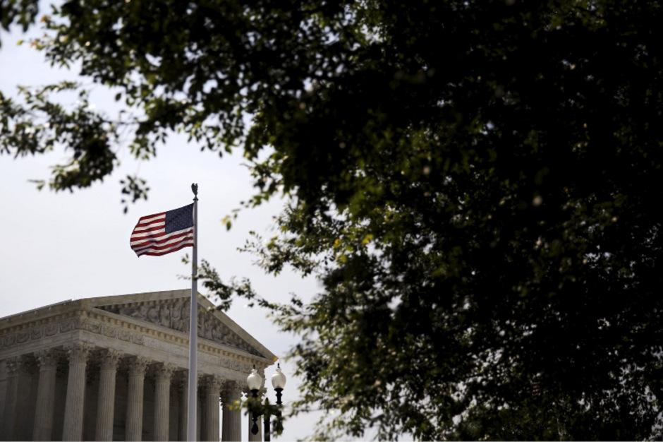Das Oberste Gericht der Vereinigten Staaten in Washington.