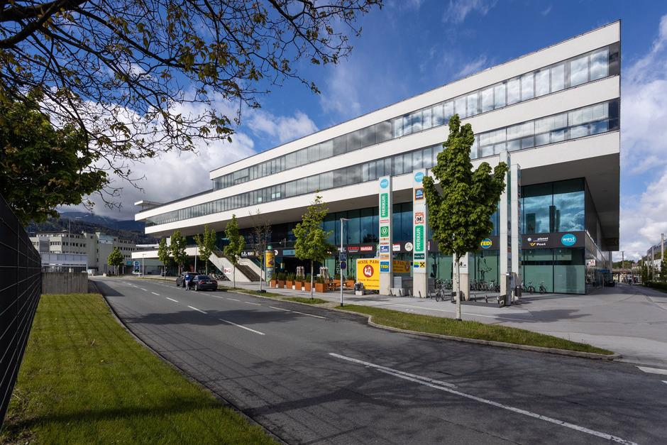 Das West in Innsbruck sei in Kürze voll vermietet, sagt Geschäftsführer Karl Weingrill.