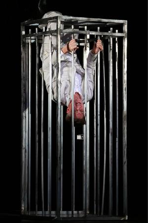 """""""Eine Lieblingsrolle"""": Mackie Messer in Brechts """"Dreigroschenoper"""", 2015 im Theater an der Wien."""