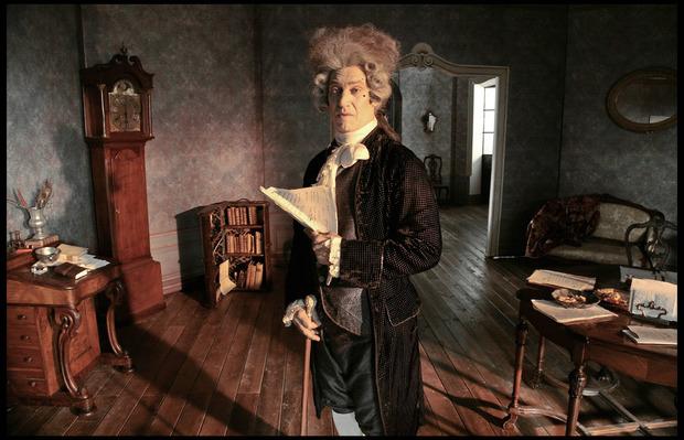 """Mit Meisterregisseur Carlos Saura drehte Moretti 2009 """"Ich, Don Giovanni""""."""