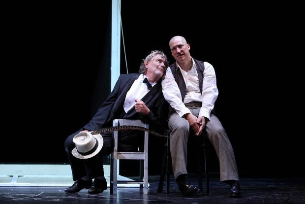 """An der Seite von Gert Voss spielte Moretti 2009 in """"Faust"""" im Burgtheater."""